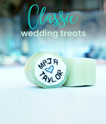 Classing Wedding Treats